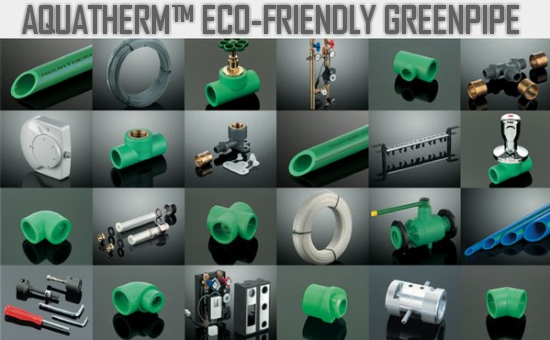 Aquatherm Eco-Friendly Greenpipe
